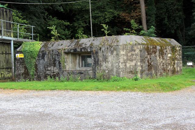 Pillbox, Allington Lock, Kent