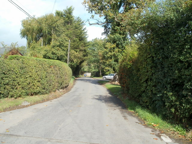 Road from Felindre to Glasbury