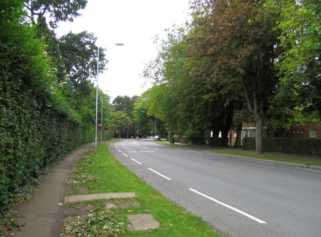Towards Manor Road/Stoughton Drive South junction