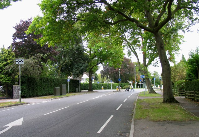 Junction of Manor Road and Stoughton Road