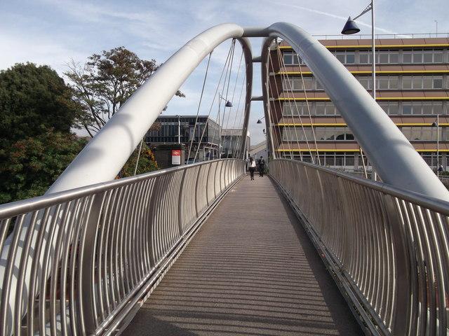 Footbridge to Dartford Railway Station