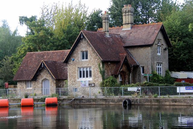 House at Allington Lock, Kent