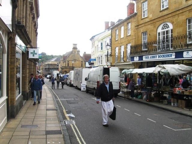 Market day, Cheap Street, Sherborne