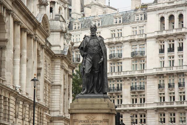 Spencer Compton statue