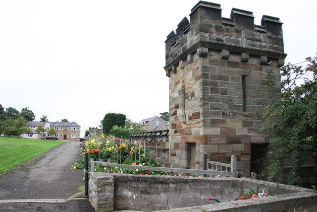 Sneaton Castle gardens