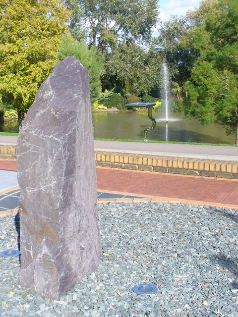 Menhir at Surrey University