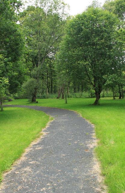 Memorial Garden  Pitlochry