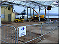 NS2477 : Reconstruction at Gourock railway station by Thomas Nugent