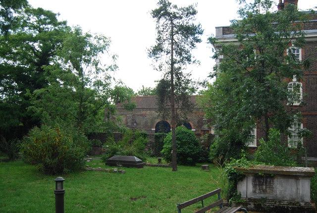 Churchyard, Rainham