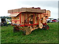 SU3435 : Longstock - Threshing Machine by Chris Talbot