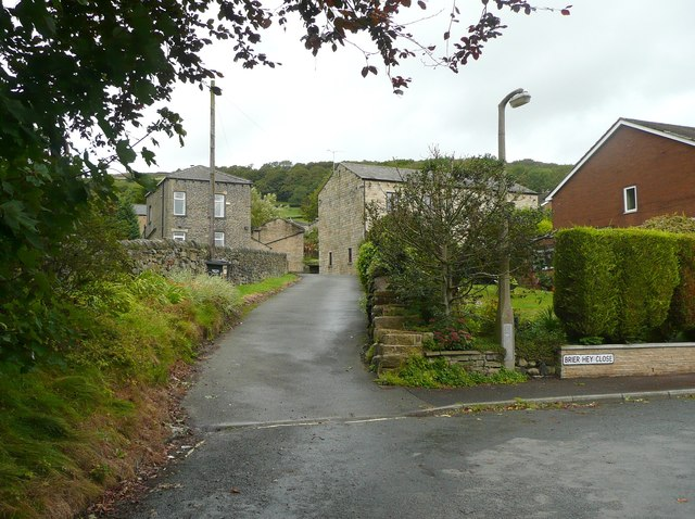 Driveway to Upper White Lee, Mytholmroyd