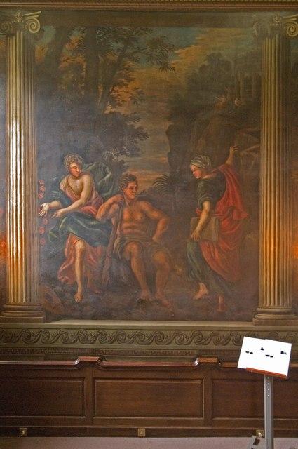 Laguerre mural, Fetcham Park House