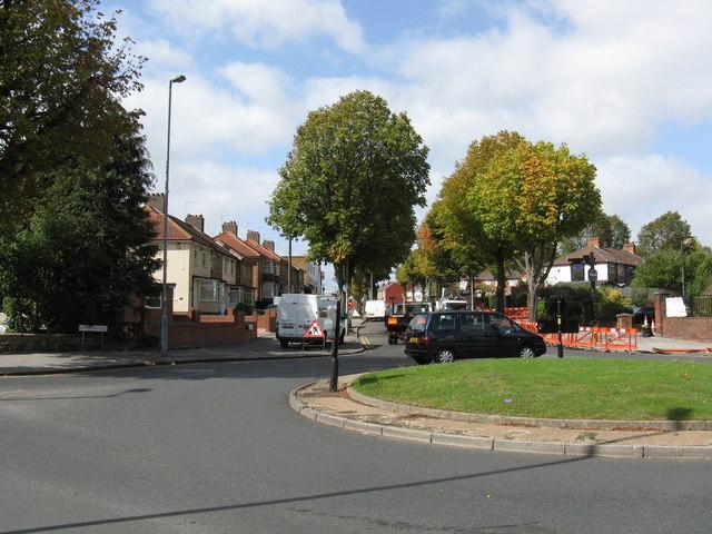 Cateswell Lane - Shaftmoor Lane roundabout