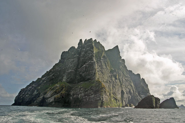 Boreray, St Kilda viewed from the north