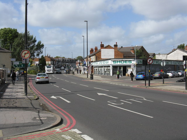 Stratford Road (A34) at Knowle Road