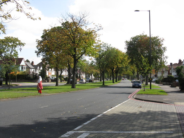 Stratford Road (A34) at Littleover Avenue