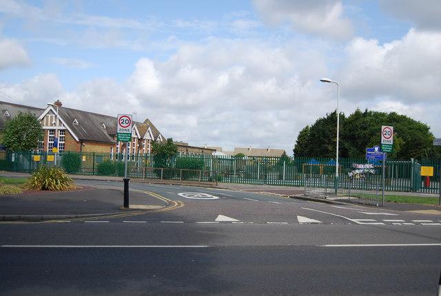 Whybridge Junior School and Blacksmiths Lane