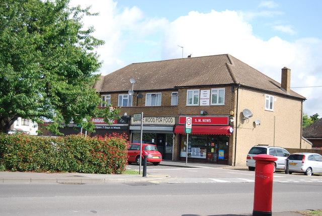 Shops, Elmer Gardens