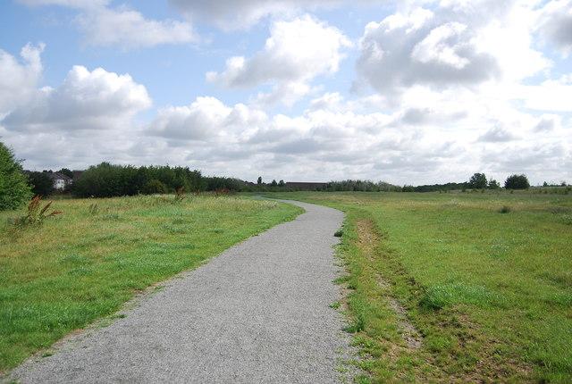 Footpath, Ingrebourne Hill