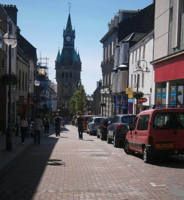 High Street  Dunfermline