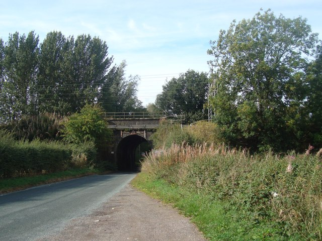 Railway Bridge Near Wrinehill