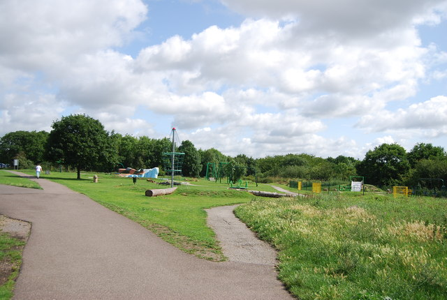 Play area, Hornchurch Country Park