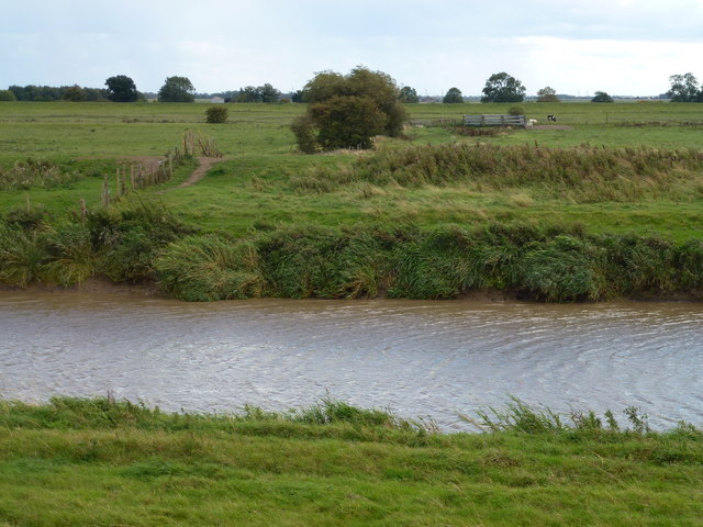 Guyhirn Wash from the north bank of the River Nene