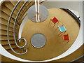 TQ7407 : Stairwell in the De La Warr Pavilion, Bexhill-on-Sea : Week 37