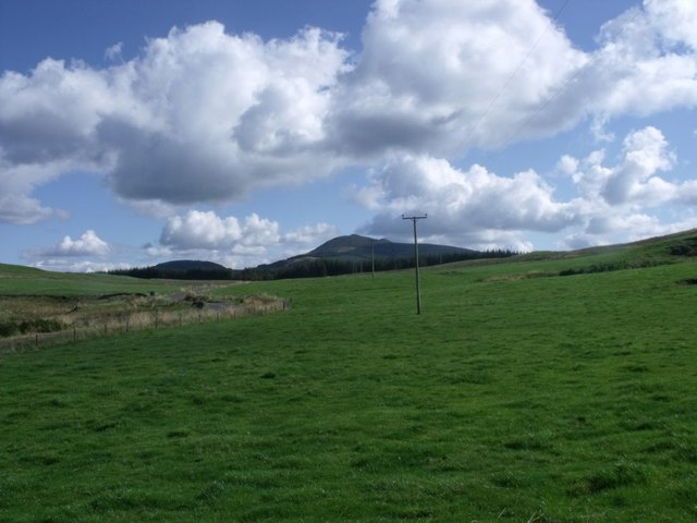 Campsie Fells, Dungoil slopes