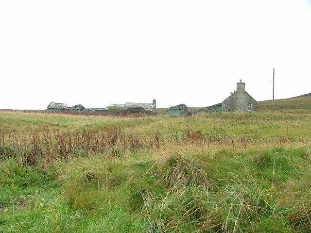 The farm dwelling at Digro, Rousay