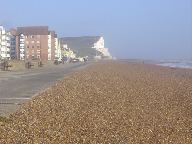 Seaford Head from Seaford beach