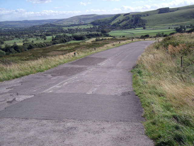A625 Abandoned Road