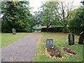 SP9730 : St. Peter, Milton Bryan: churchyard (D) by Basher Eyre