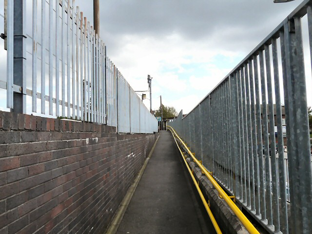 Ramp to Prestwich Station