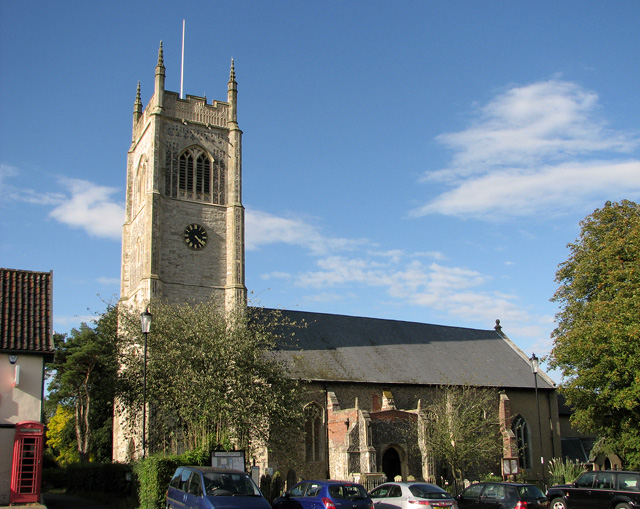 All Saints church, Laxfield