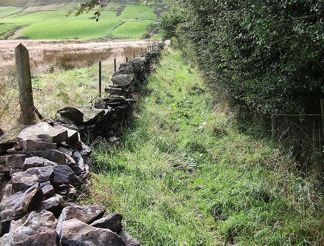 Bridleway to Rochdale Road (A640) Denshaw
