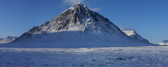 Buachaille Etive Mor from the A82 at Alnafeadh
