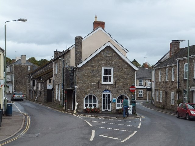 The library building in Bampton