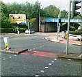 SJ7193 : Liverpool Road, Excalibur Way junction by Alex McGregor