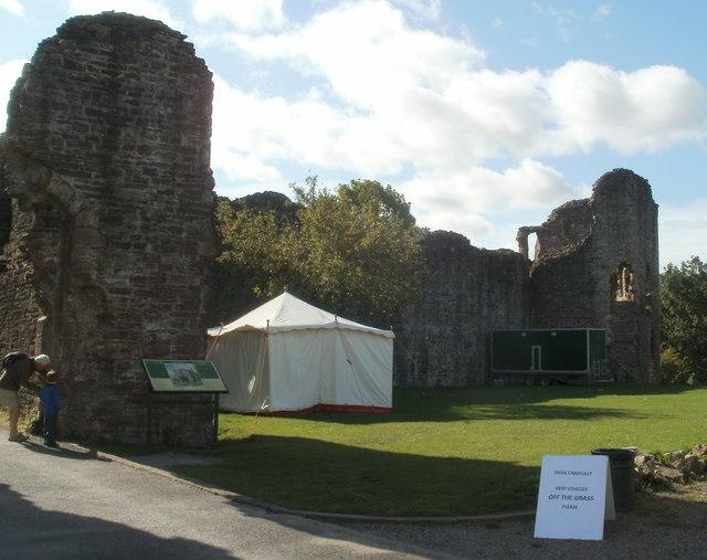Abergavenny Castle gatehouse