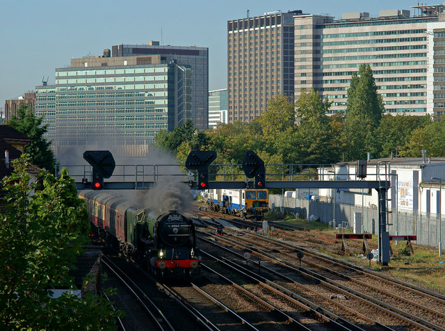 'Tornado' at East Croydon