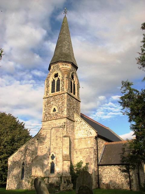 St Mary's church in Walpole