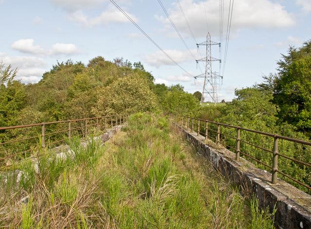 Viaduct On The Disused Devon Valley William Starkey
