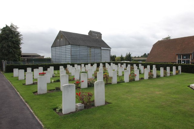 War graves at Harwell