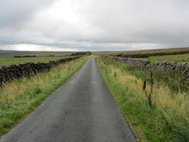 Peat Lane below Coldstones Quarry