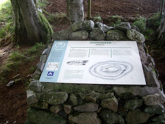 Dunnideer Hillforts and Stone Circle
