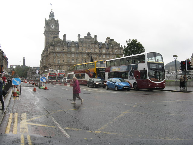 Princes Street, east end