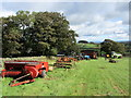 SE1561 : Farm Machinery near Deer Ing House by Chris Heaton
