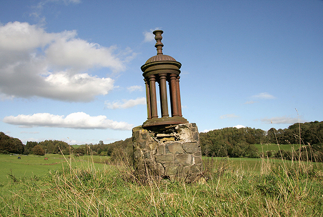 A monument on Queen's Hill