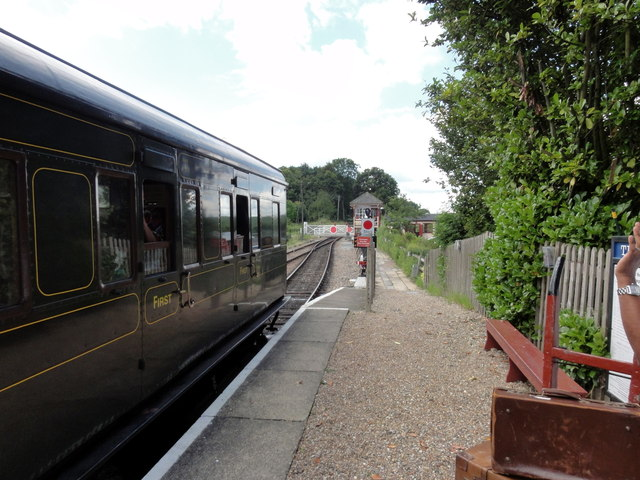 K&ESR, Wittersham Road Station
